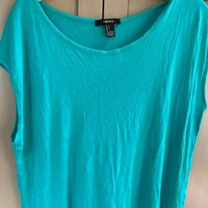 Forever21 Turquoise sleeveless top M